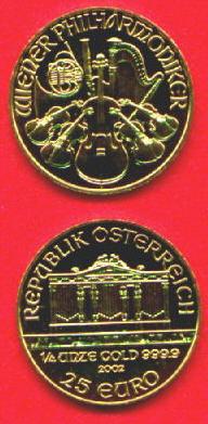 Austria Gold Coins Ducats Philharmonic Euros Lynn Coins