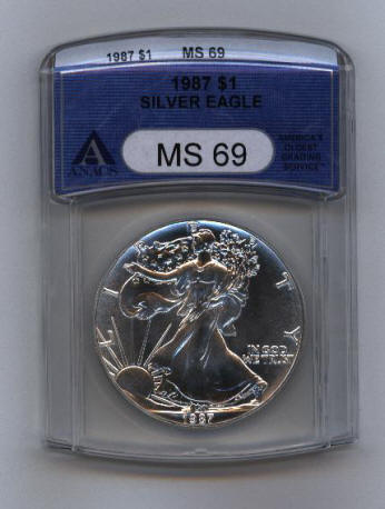 Silver Eagle Dollars Sets Ngc Anacs Certified And Graded