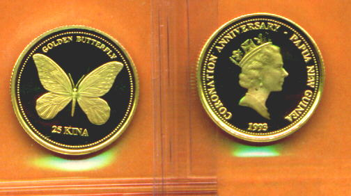Butterfly Coins