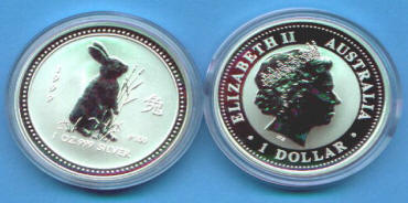 Information and Facts about Australia LUNAR SILVER COINS