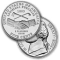 "2004 Spring Design: ""Louisiana Purchase/Peace Medal"" Nickel"