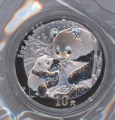 silver panda coin price guide