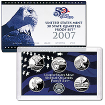 2007-s CLAD Proof State QUARTERS