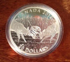 Deer challenge coins from canada for sale