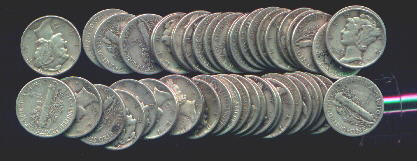 Bags Of Us Silver Coins 90 Pure Junk Silver Dimes