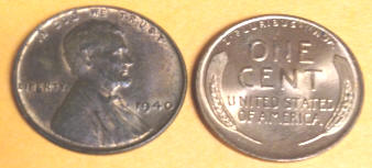 Wheat Pennies photo of front and back